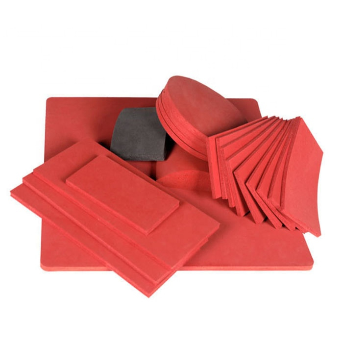 Customized Red Silicone Rubber sheet Featured Image