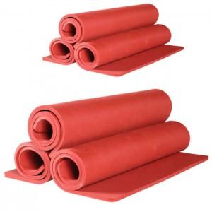 China red silicone foam sheet for heat press machine