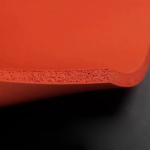 High Temperature Resistant Foamed Silicone Rubber Sheet