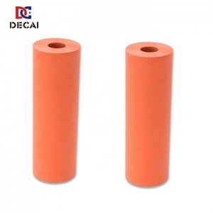 High temperature resistant silicone rubber roller for heat transfer machine