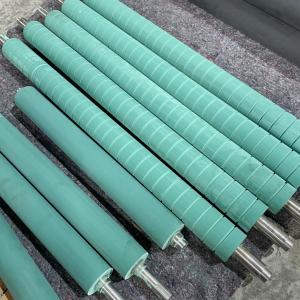 Industrial rubber Coated printing Roller manufacturer