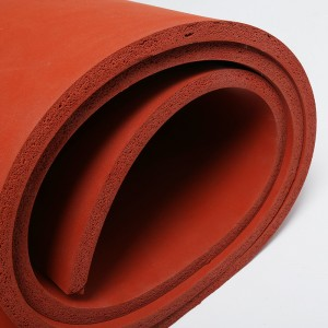 Silicone foam sponge sheet