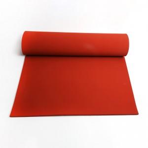 High temperature resistant foam silicone rubber pad
