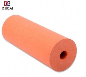 High temperature resistance silicone rubber roller for printing machine