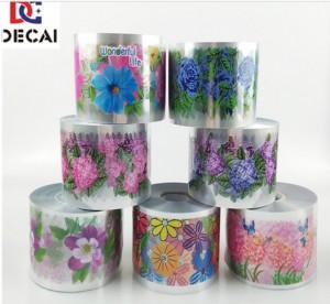 Customized Creative Heat Transfer Printing Label Film For Plastic