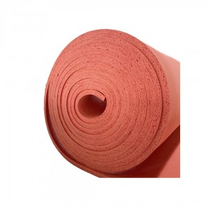 Heat transfer silicone rubber foam sheet Closed cell