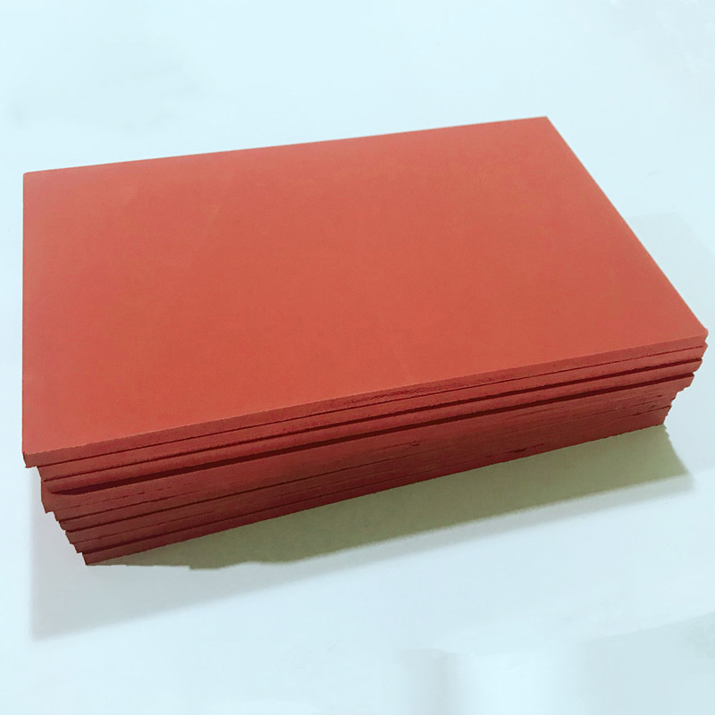 High quality Silicone foam rubber sheet in Red Featured Image