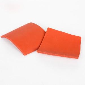 Heat resistant silicone sponge foam sheet for heat press