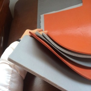 1 to 12 mm Thickness Soft Foam Silicone Rubber