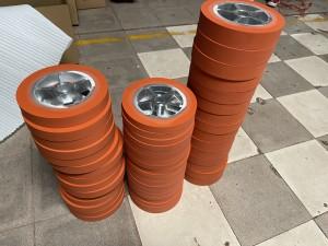 Bronzing Wheel Heat Transfer Silicone Rubber Roller Wheel