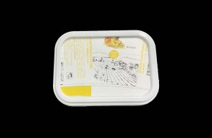 IML Labeling Machine,In Molding Label Robot System,ICE Cream Container Lids,Cheese Container Lids
