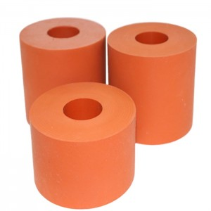 Flexible Hot Stamping Silicone Rubber Roller and Wheel