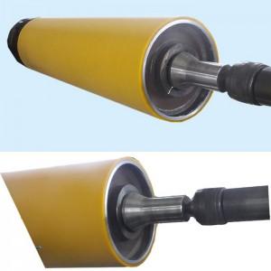 Belt active PU rubber roller