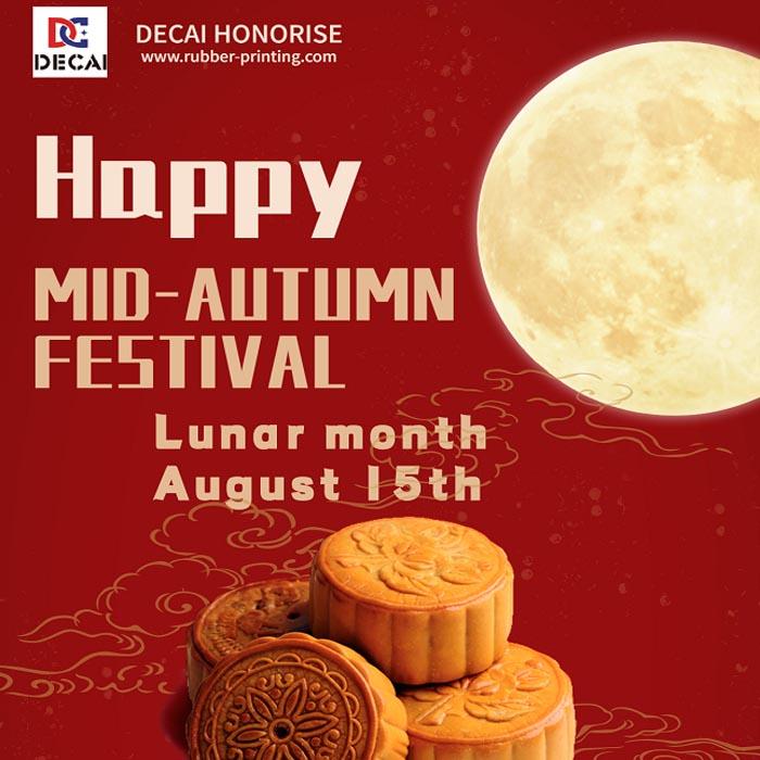 DECAI Mid-Autumn Festival holiday notice