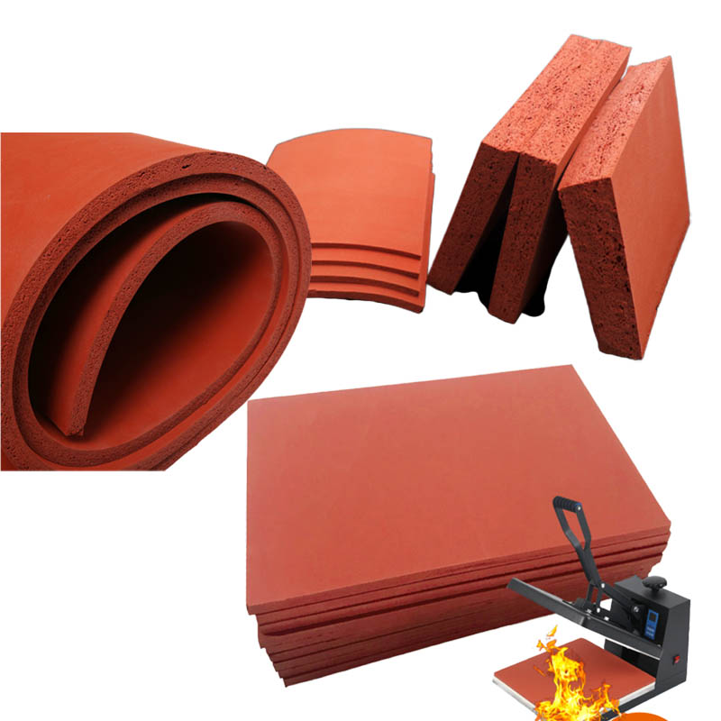 High temperature resistant foam silicone rubber pad Featured Image