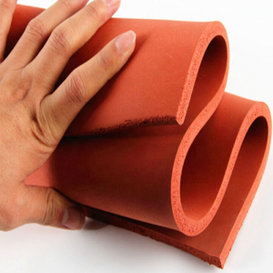 China silicone sponge foam plate for hot stamping