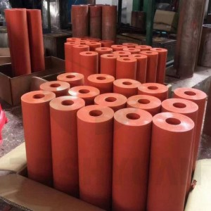 Silicone Rubber Roller and Wheel for Heating Transfer Printing