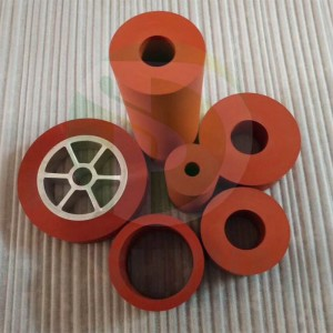 heat transfer rubber roller Hot stamping Bronzing silicone roller wheel