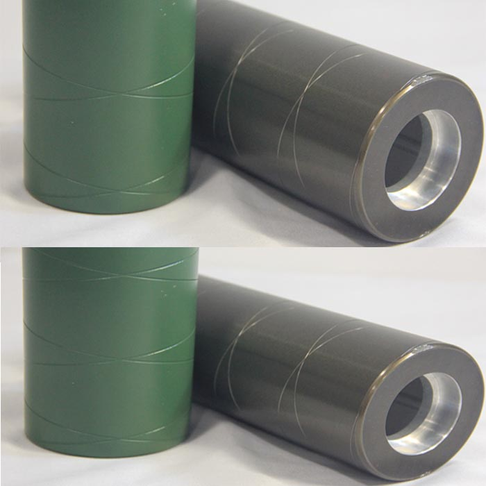 Maintenance method of aluminum guide roller