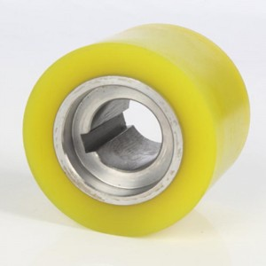 urethane rubber rollers with keyway