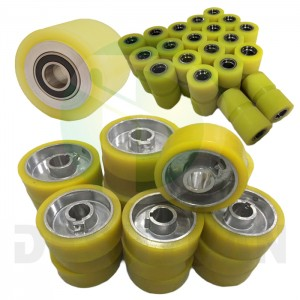 Polyurethane PU Rubber Roller for industrial machines