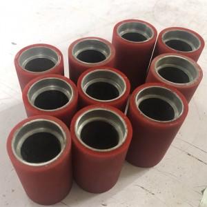 rubber polyurethane pu roller for machine parts