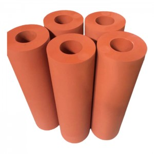 silicone rubber heating pad cylinders for printing machine silicon rollers