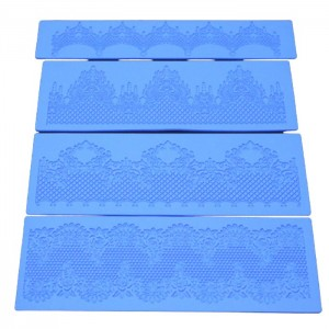 Silicone lace pad DIY Baking Decoration Mold
