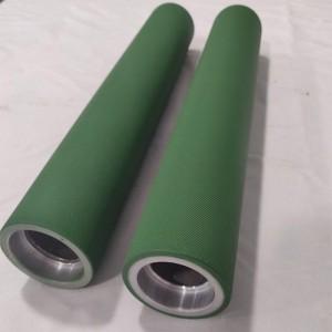 Teflon aluminum guide roller
