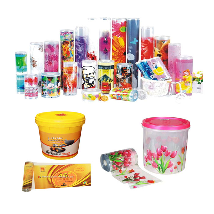 Heat Transfer Printing Sticker Machine for Plastic Container Featured Image