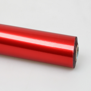 Red Generic Foil Hot Stamping Foil For Plastic and Paper