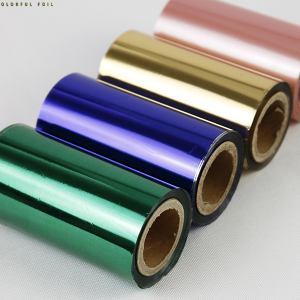 Hot Stamping Foil Roll for Packing Paper