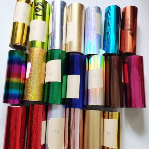 Multi-color Hot Stamping Foil Printing for Leather