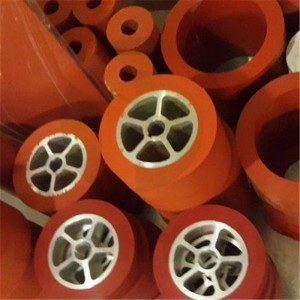 Accept Customized High Temparature Resistance Silicone Rubber Wheel