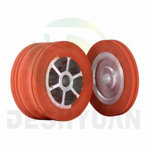Cheap Price Silicone Rubber Wheel Heat Temperature Resistance Silicone Wheel