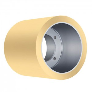 6 Inch aluminum Drum Paddy Huller Rice Polyurethane Rubber Rollers