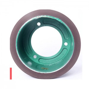 8 inch Grain rice mill hulling SBR rubber roller for hulling machine