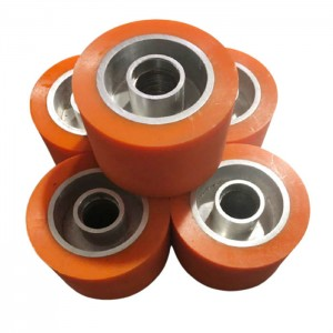 Wear resistant Polyurethane PU idler roller