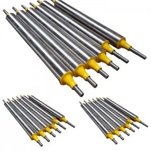 stainless steel idler roller chrome-plated steel roller
