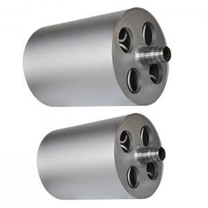 China sand blasting steel roller