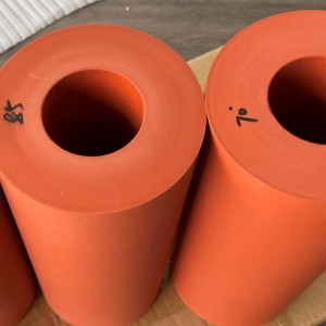 Silicone Rubber Wheels Heat Transfer Silicone Rubber Roller