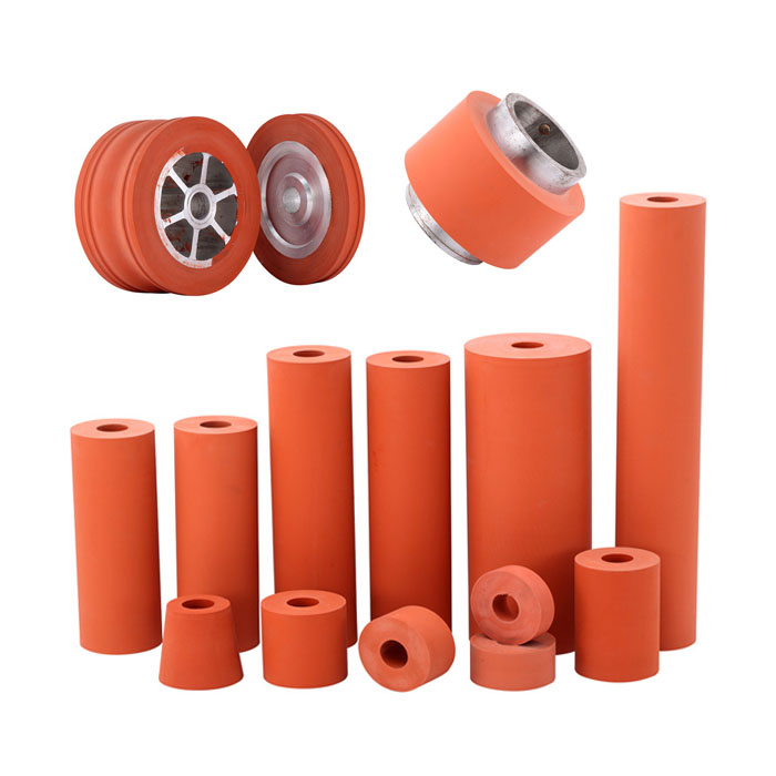 Silicone Rubber Roller and Wheel for Heating Transfer Printing Featured Image