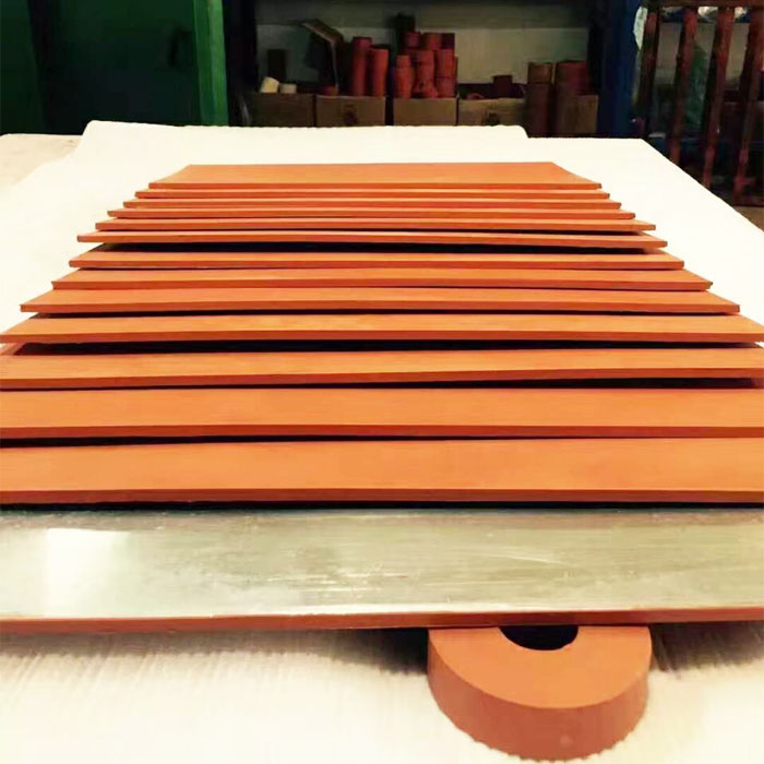 300*600MM Silicone Rubber Plate with aluminum plate Featured Image