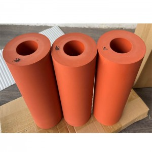 silicone rubber roller high heat resistant Customized Quality