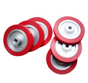 Hot-selling Customized Silicone Rubber Wheel Aluminum Core