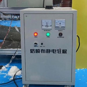 Static Electret for Meltblown Non-Woven Fabric machines
