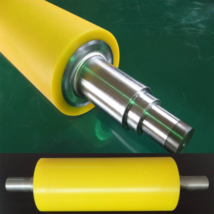 Raw material formula of wear-resistant rubber rollers